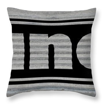 Laundry On Metal Throw Pillow