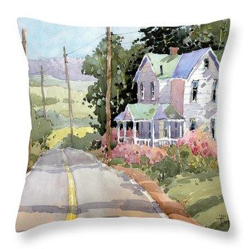 Laurel Mountain Farm Throw Pillow