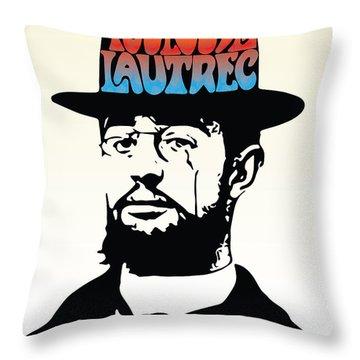 Lautrec Throw Pillow by Gary Grayson