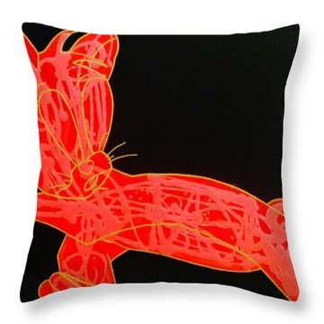 Lava Throw Pillow