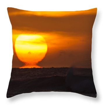 Throw Pillow featuring the photograph Lava by DJA Images