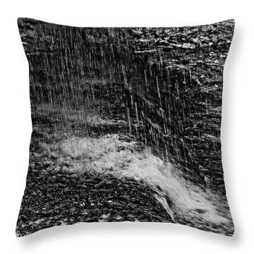 Lava Falls Throw Pillow
