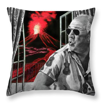 Lava Me Now Or Lava Me Not Throw Pillow