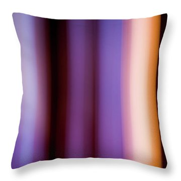 Lavender And Rose Gold Throw Pillow