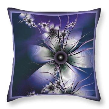 Lavender Glow Throw Pillow