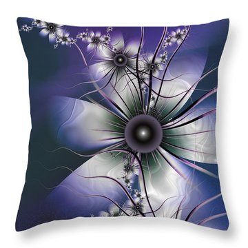 Lavender Glow Throw Pillow