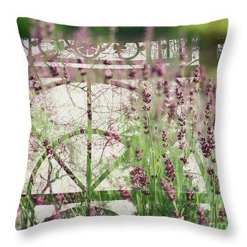 Lavender Whisper Throw Pillow
