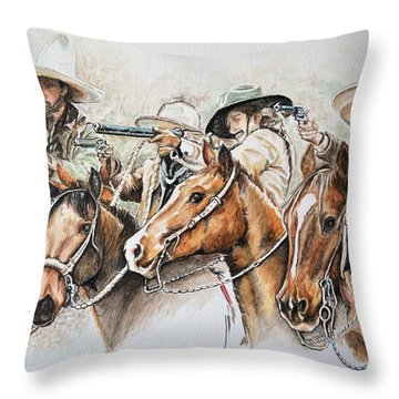 Lawless Throw Pillow