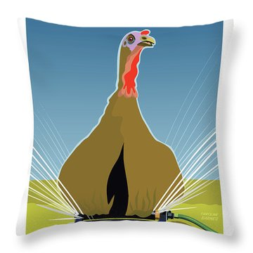 Lawn Care Throw Pillow
