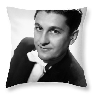 Lawrence Welk (1903-1992) Throw Pillow by Granger