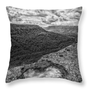 Lawsons Rock Overlook Throw Pillow