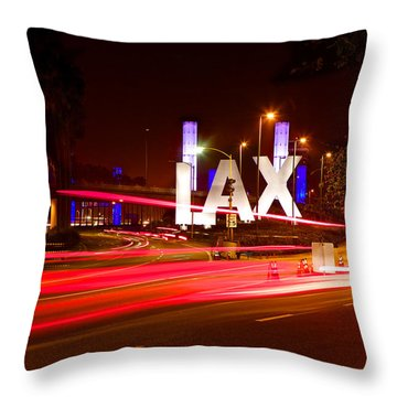 Lax Activity Throw Pillow