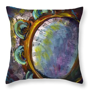 Lay Down Sally Throw Pillow by Raette Meredith