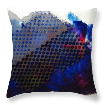 Layered Life Throw Pillow