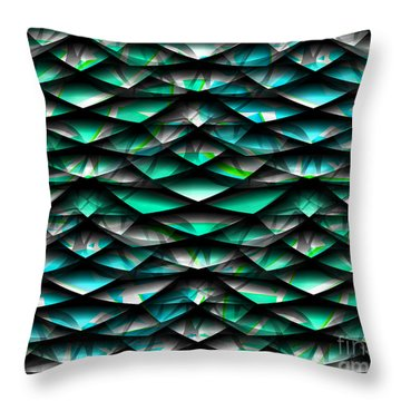 Layers Abstract Throw Pillow