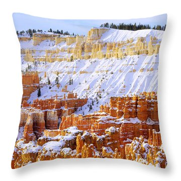 Throw Pillow featuring the photograph Layers by Chad Dutson