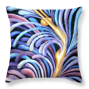 Layers Ciii Throw Pillow