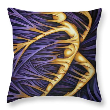 Layers Civ Throw Pillow