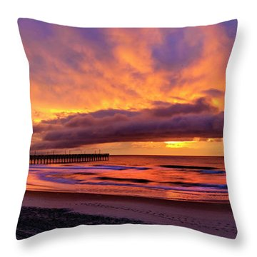 Throw Pillow featuring the photograph Layers by DJA Images