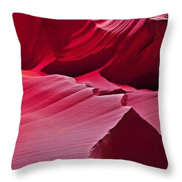 Throw Pillow featuring the photograph Layers by Jeff Cook