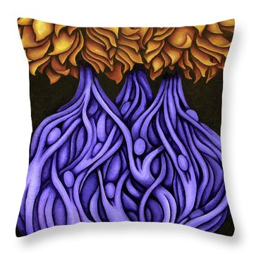Layers Lxxvi Throw Pillow