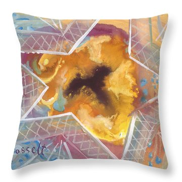 Layers Of A Healer Throw Pillow