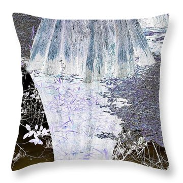 Layers Of Activity Throw Pillow