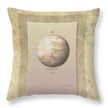Layers Of Life Throw Pillow by Jack Eadon