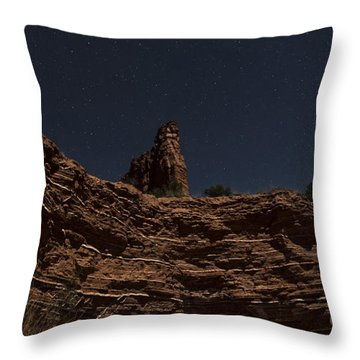 Throw Pillow featuring the photograph Layers Of Time by Melany Sarafis
