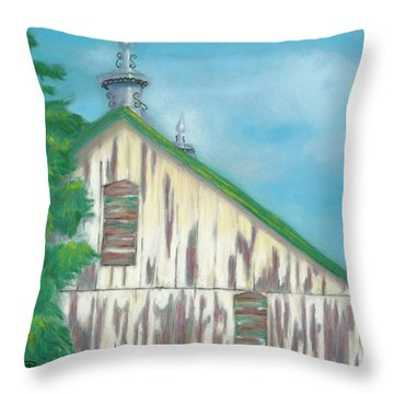Layers Of Years Gone By Throw Pillow by Arlene Crafton
