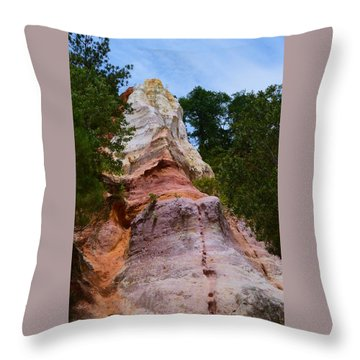Layers Throw Pillow by Warren Thompson