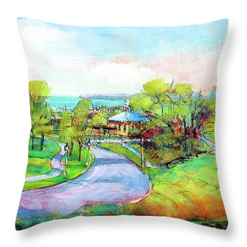 Layfayette Hill Throw Pillow