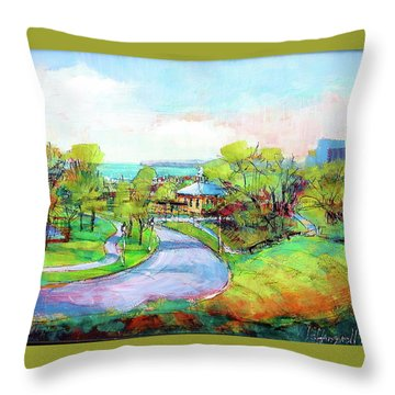 Layfayette Hill Throw Pillow
