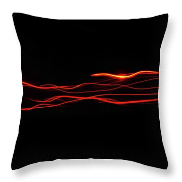 Lazer Throw Pillow