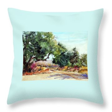 Lbj Grasslands Tx Throw Pillow by Ron Stephens