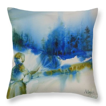 Le Chemin Throw Pillow