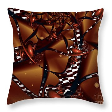 Le Chocolatier Throw Pillow by Michelle H