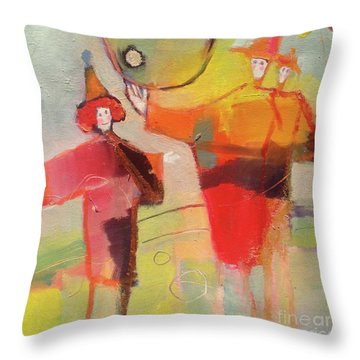 Le Cirque Throw Pillow