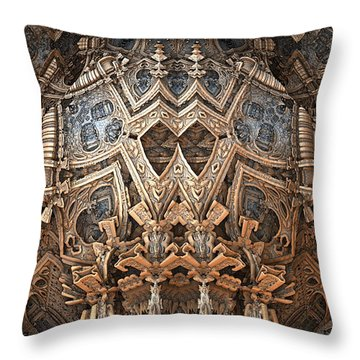 Le Grand Helm Throw Pillow