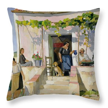 Le Mazet Throw Pillow by Armand Coussens