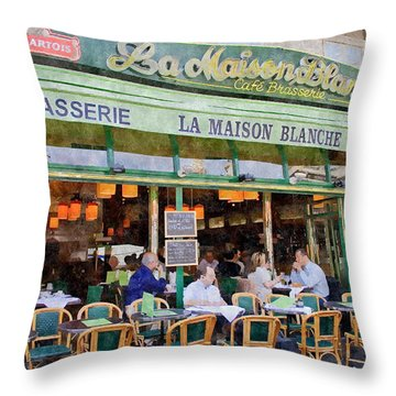 Le Paris Maison Throw Pillow