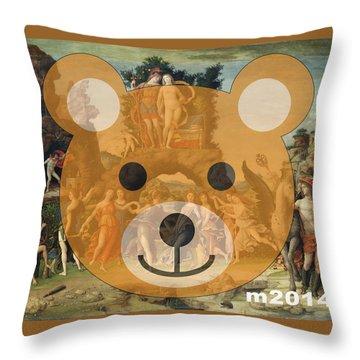 Le Parnasse Throw Pillow