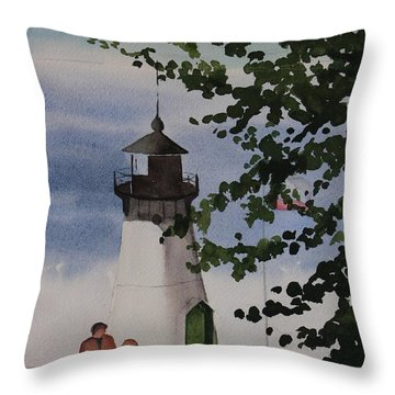 Le Petit Montara Throw Pillow