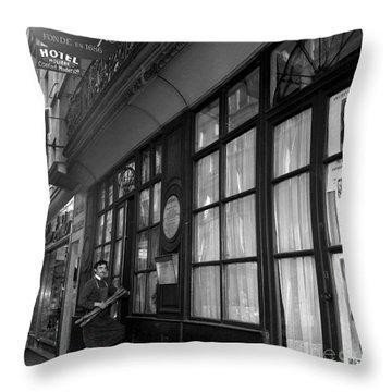 Le Procope Restaurant, Paris, 1962 Throw Pillow