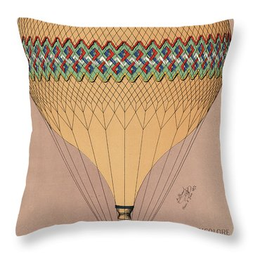 Le Tricolore 2 Throw Pillow