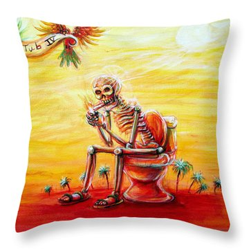 Le Tub Iv Throw Pillow