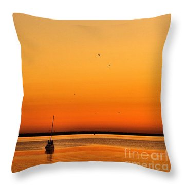 Le Voyage 02 Throw Pillow by Aimelle