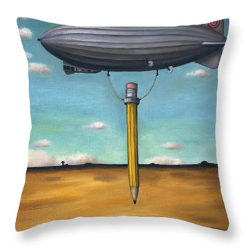 Lead Zeppelin Throw Pillow
