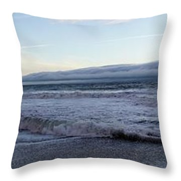 Leading Edge Throw Pillow by Michael Courtney