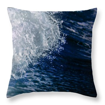 Leading Edge Throw Pillow